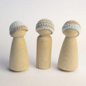 Blue-Mushroom hats sq