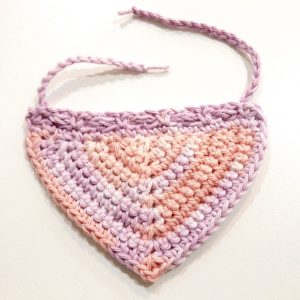 Peg Doll Mama Shawl Tutorial 11