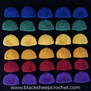 Rainbow Beanie collection bold tut