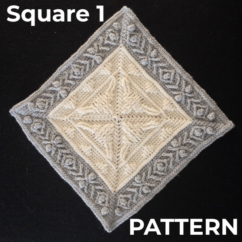 WIJ-CAL Square 1 Year of the Ox Pattern